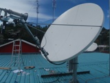 Connecting ANZ Solomon Islands to their global network with 2.4m VSAT